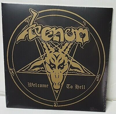 Venom Welcome To Hell LP Vinyl Record new Back On Black Reissue