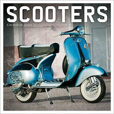Scooters 2020 Official Square Wall Calendar