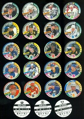 1994-95 Canada Games Nhl Pogs See List