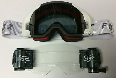 Fox White Vue Goggle with Vue Total Vision System