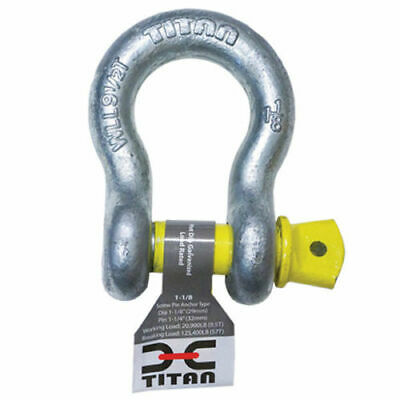 Galvanized Shackle 3/8'' Boat Marine Anchor Chain Bow Utility 2200Lb Wl 13200Bl