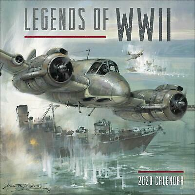 Legends of WWII 2020 Official Square Wall Calendar