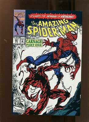Amazing Spiderman #361 (9.2) 1St Carnage! 1992