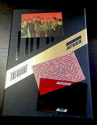 ATEEZ Treasure EP. FIN Album [Black Version] (EVERYTHING ex. member PCs)