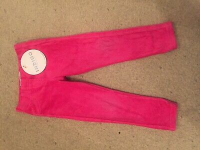 *New* Girls Pink Trousers, Treggings. Age 2-3, M&S