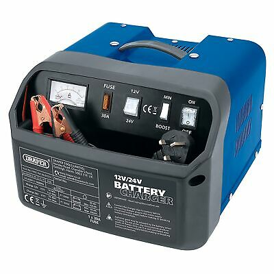 Draper 12/24V 12A Battery Charger - BCD12