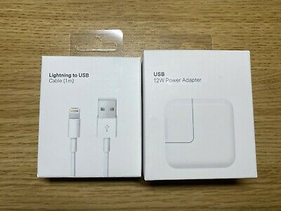 Genuine orginal OEM 12W USB Power Adapter Wall Charger for Apple iPad 2 3 4 Air