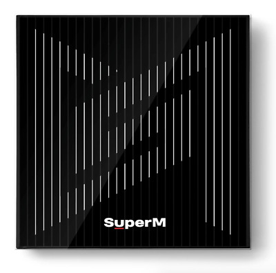 [SUPERM] THE 1ST MINI ALBUM 'SUPERM' - UNITED VER. Full Package + Folded Poster