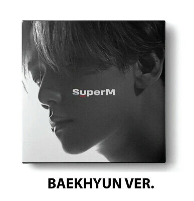 [SUPERM] THE 1ST MINI ALBUM 'SUPERM' BAEKHYUN VER. Full Package