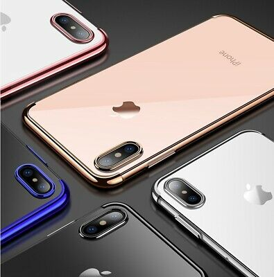 Case for iPhone XS MAX 7 8 6 6s Plus XR ShockProof Soft Phone Cover TPU Silicon