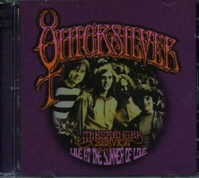 Quicksilver Messenger Service - Live At The Summer Of Love CD2 Floating Wor NEW