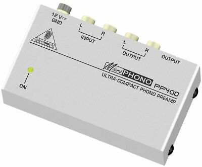 Behringer Microphono PP400 Compact DJ Phono Preamp