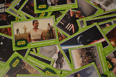 Topps Journey To Star Wars The Rise of Skywalker (2019) GREEN PARALLEL BASE Card