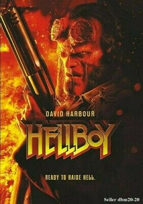 Hellboy-Ready To Raise Hell-DVD-Same Day Dispatch