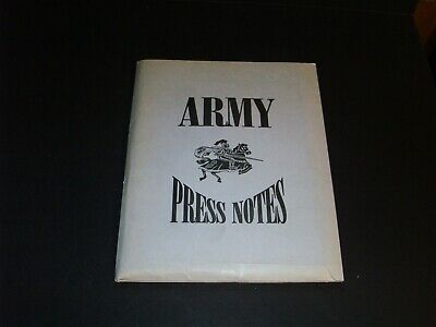 Sept 27 1997 Army College Football Press Kit Yearnook Parking Press Papers #2