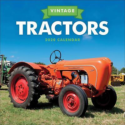 Vintage Tractor 2020 Official Square Wall Calendar