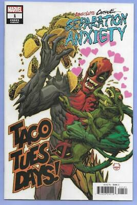 Marvel Comics Absolute Carnage Separation Anxiety #1 NM Codex 1:25 Variant !!d