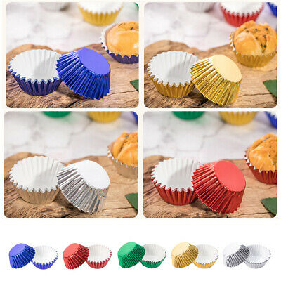 1000PK Patty Pans Muffin Paper Cases Greaseproof Cups Cupcake Wrapper Cake Liner