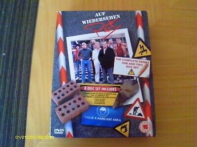 Dvd - Auf Wiedersehen Pet - Complete Series One And Two 1 + 2 - Ex Condition