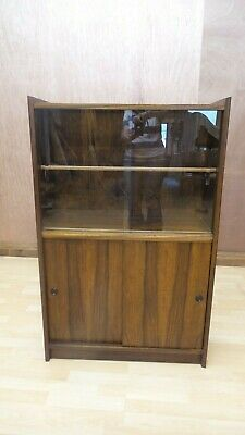 1970's Mid century Modern Mahogany Bookcase Petite and Stylish