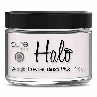 Halo By Pure Nails Acrylic Powder BLUSH Pink - Large 165g Pot