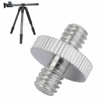1/4 inch Male to 1/4 inch Male Camera Screw Adapter For Tripod Mount Holder RT