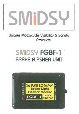 SMIDSY FGBF-1 - Feux STOP clignotants