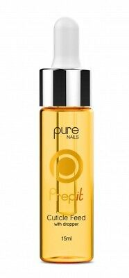 Pure Nails Prep It - CUTICLE FEED - Oil Nail Treatment - 15ml with DROPPER