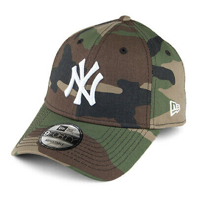 New Era 9FORTY NY Yankees Baseball Cap - League Essential - Camouflage