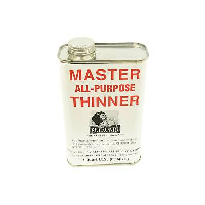 Masters All Purpose Thinner 1 Quart for Masters All-Purpose Cement