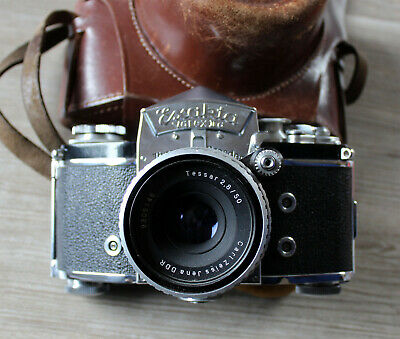 Exakta-Varex Iia with Jena Tessar 2,8/50 and Bag 1958/60