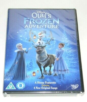 Disney's Olaf's Frozen Adventure DVD. A Disney Featurette