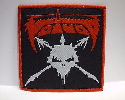 voivod red border WOVEN PATCH