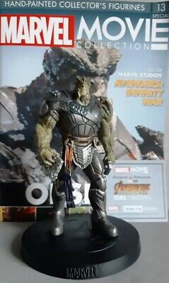 MARVEL MOVIE COLLECTION SPECIAL #13 Cull Obsidian Figurine (Avengers: Infinity)