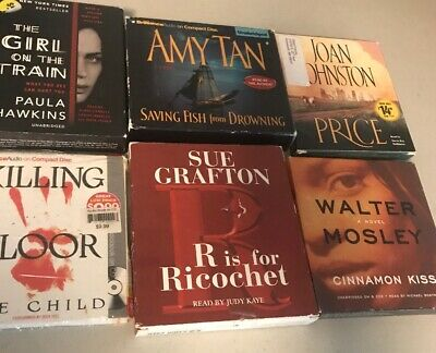 Audiobook Lot Mystery Thriller Suspense Fiction