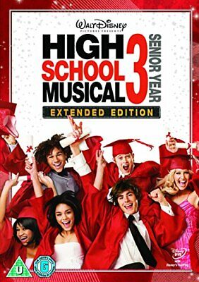 High School Musical 3: Senior Year [DVD], New, DVD, FREE & FAST Delivery