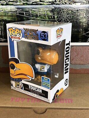 Funko Pop Ad Icons Toucan #53 San Diego Comic Con Summer Convention Sticker