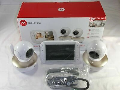 "Motorola 5"" Portable Video Baby Monitor with Two Cameras MBP36XL-G2"