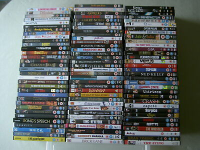 Job lot collection of 100 Drama UK DVDs all EX/NM
