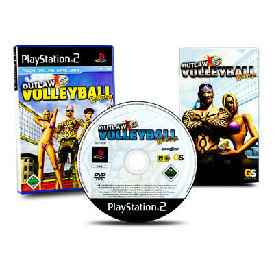 Playstation 2 PS2 Game Outlaw Volleyball Remixed in Original Package with Guide