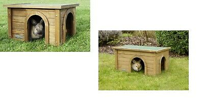 Rodent House Small Animal 2 Sizes Rabbit Outdoor Schutzhaus Hares