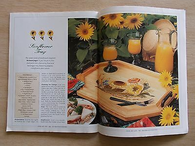 Folk Art & Decorative Painting Vol 2 #2~Lemons~Sunflowers~Birdhouse~Cradle~Trike