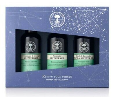 Neal's Yard Remedies Revive your Senses Shower collection 3 x 100ml BBE 05/22