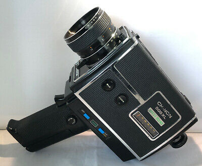 CHINON 505XL SUPER 8 SOUND MOVIE CAMERA - With Carry Case T&W