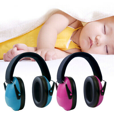 Portable Baby Earmuff ABS Effective Infant Kids Hearing Protection Ear Syringe
