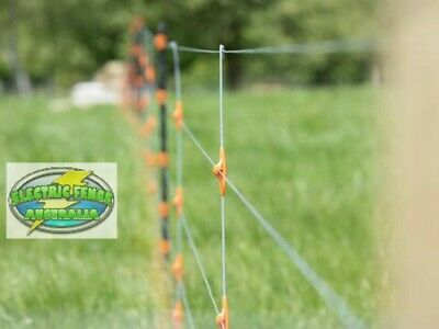 Gallagher 6 Wire Electric Fence Dropper (985mm for 1140mm /45inch fence) 10 Pack