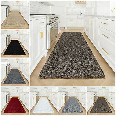 Modern Small Extra Large Thick Pile Floor Area Rugs Glitter Hallway Runners Mats