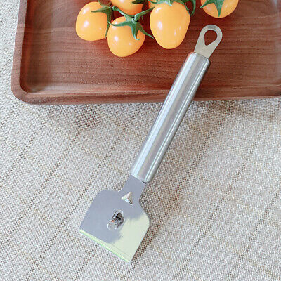 Wall Cleaning Scraper Long Handle Stainless Steel Double Sided With Hanging Hole