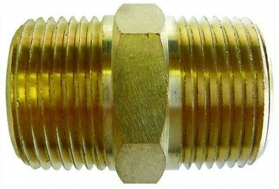 EC48/48 Brass Equal Connector BSPT Male 3""