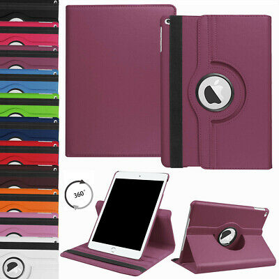 """For iPad 10.2"""" 7th Generation 2019 Flip Leather Case Rotating Stand Smart Cover"""